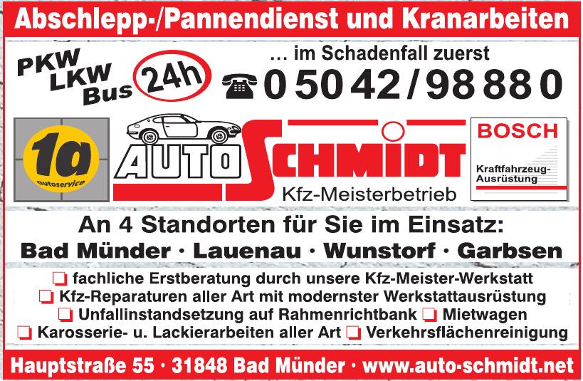 Auto Schmidt Kfz-Meisterbetrieb