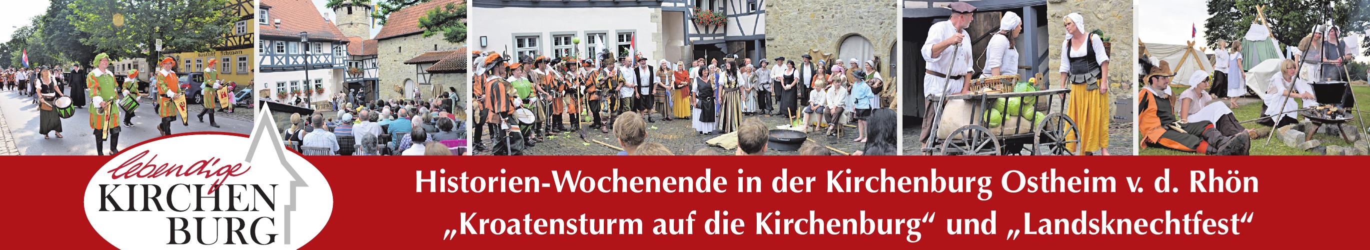 Historien-Wochenende in der Kirchenburg Ostheim v. d. Rhön Image 1