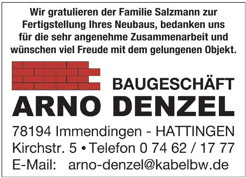 Baugeschäft Arno Denzel