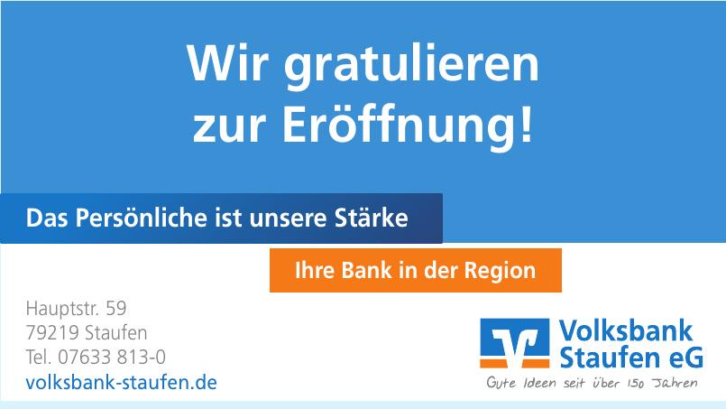 Volsbank Staufen eG