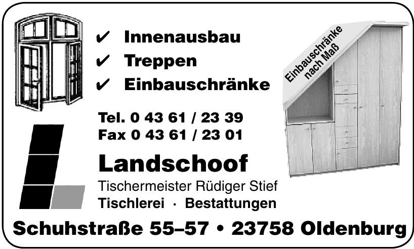 Landschoof Tischermeister