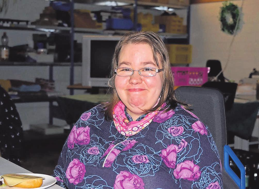 Mitarbeiterin Peggy Bänke akzeptiert, dass es in der Adventszeit diesmal anders zuging.