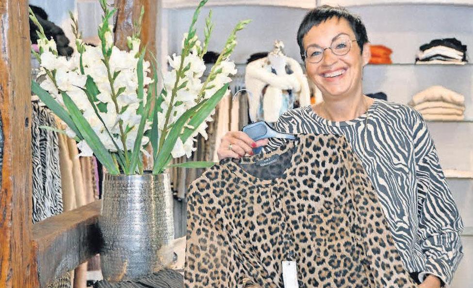 Iris Heitmüller und ihr Fachgeschäft Mode & Lebensart ist mehr als nur einen Besuch wert.