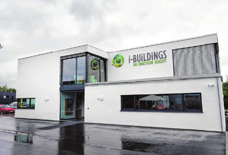 """Das elegante GZU-Bürogebäude wurde von Nadine Obenland nach dem Prinzip des """"Goldenen Schnitts"""" geplant.  Fotos: Beatrice Schnelle"""