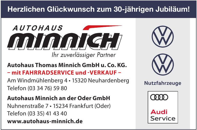 Autohaus Minnich an der Oder GmbH