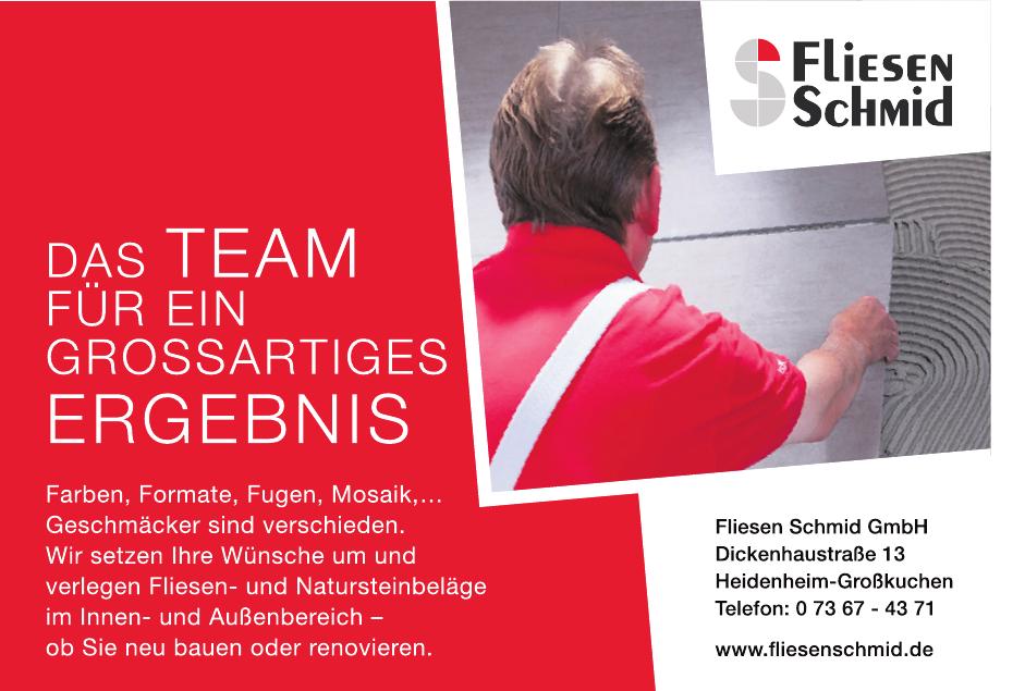 Fliesen Schmid GmbH