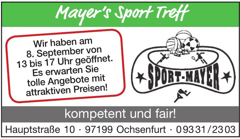 Mayer's Sport Treff