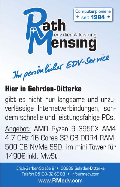 Rath + Mensing edv.dienst.leistung