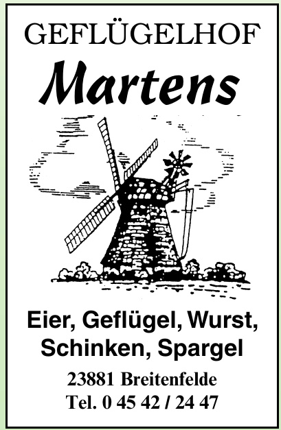 Geflügelhof Martens