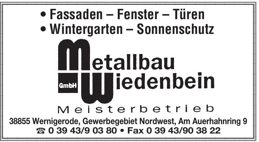 Metallbau Wiedenbein GmbH