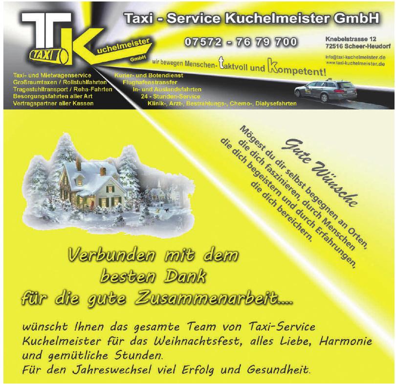 Taxi - Service Kuchelmeister GmbH