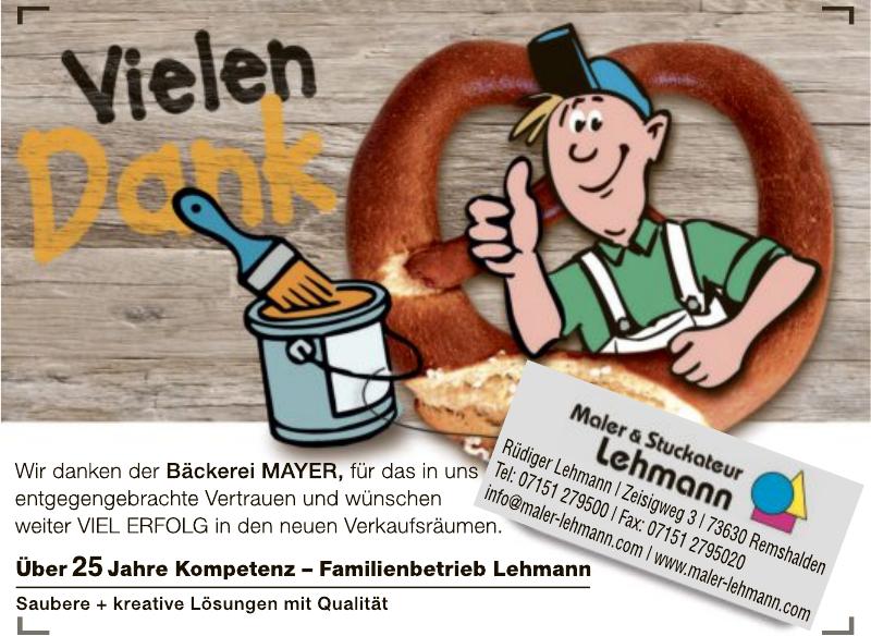 Maler- & Stuckateur Lehmann