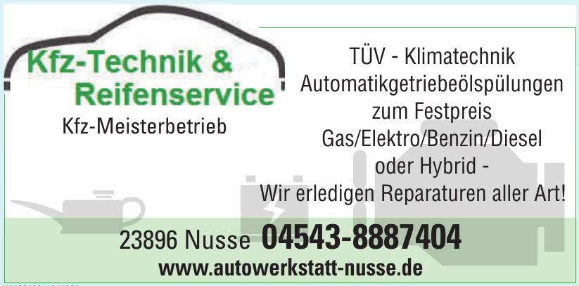 Kfz-Technik & Reifenservice Nusse