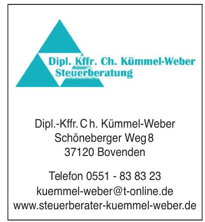 Dipl. Kffr. Ch. Kümmel-Weber Steuerberatung