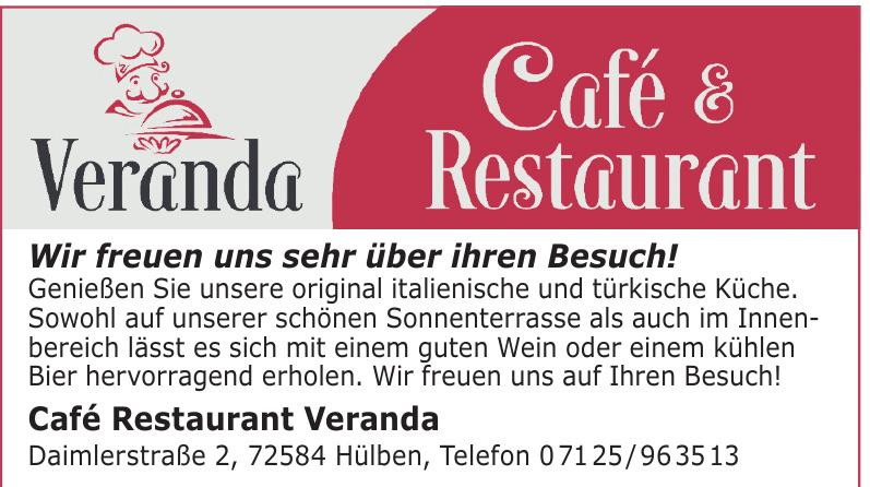 Café Restaurant Veranda
