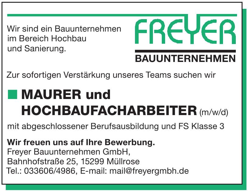 Freyer Bauunternehmen GmbH