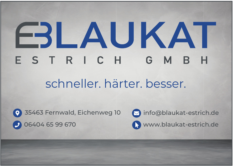 Blaukat Estrich GmbH