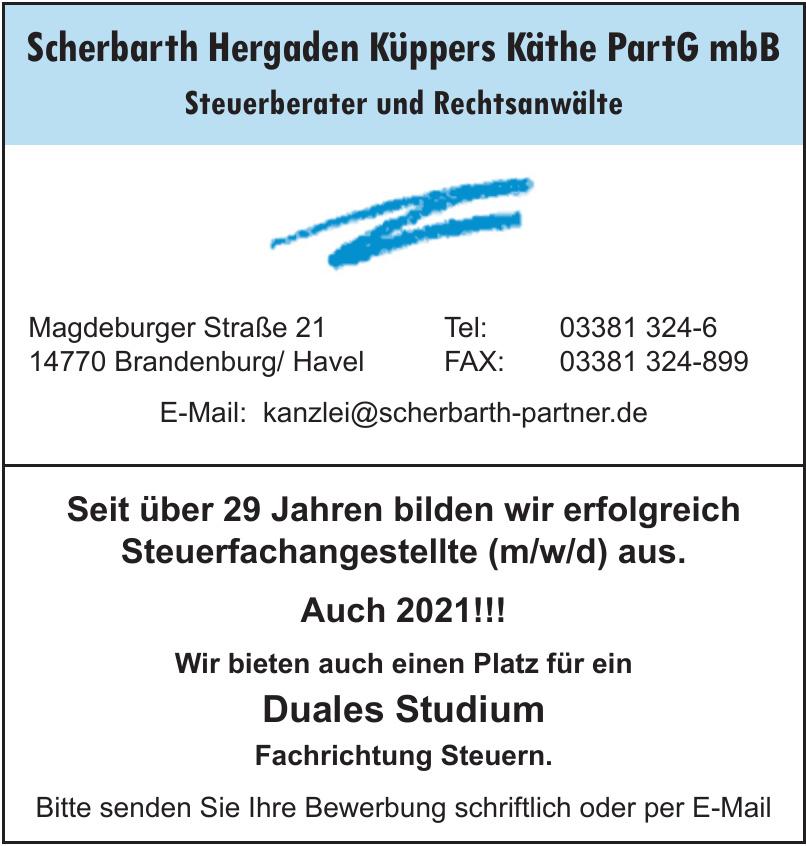 Scherbarth Hergaden Küppers Käthe PartG mbB