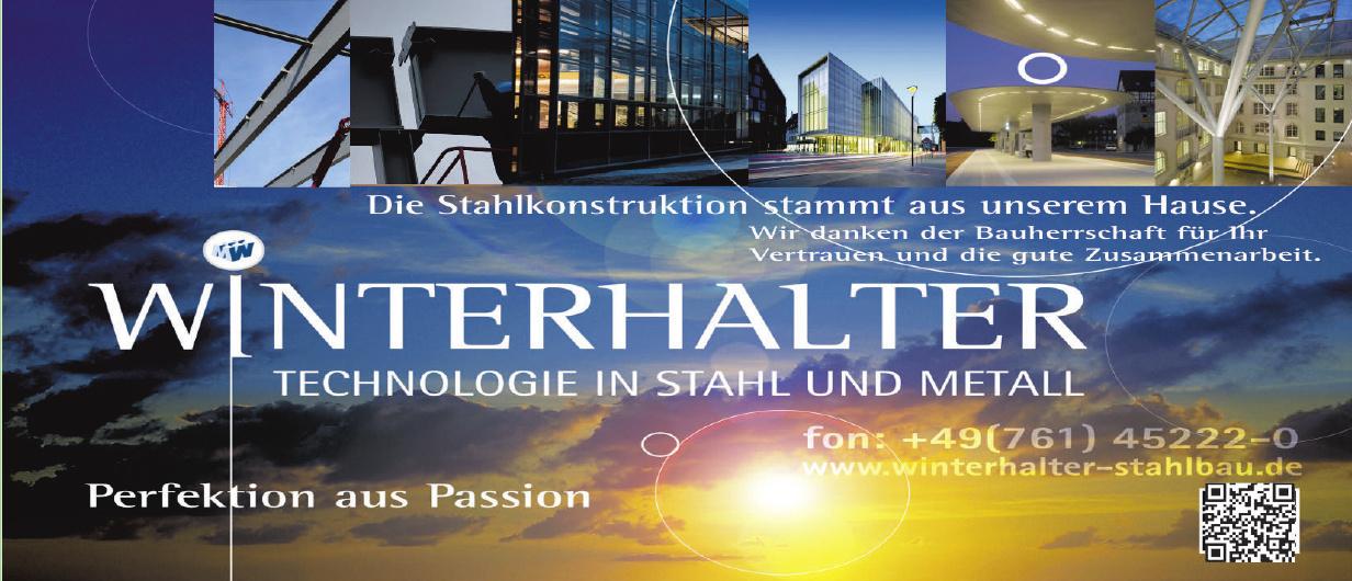 Winterhalter Technologie in Stahl und Metall