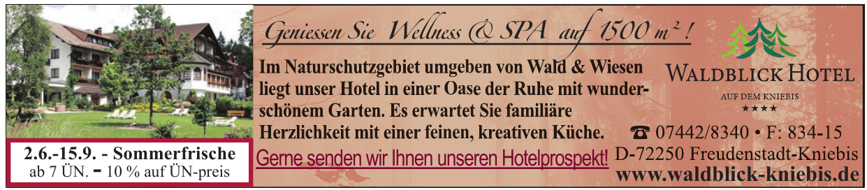 Waldblick Hotel