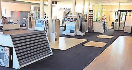 In der Ausstellungen finden Kunden Inspiration. Foto: LN-Archiv