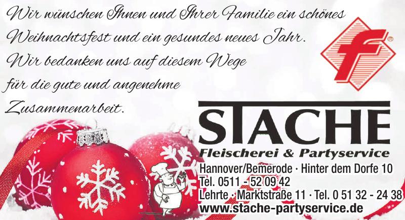 Stache Fleischerei & Partyservice