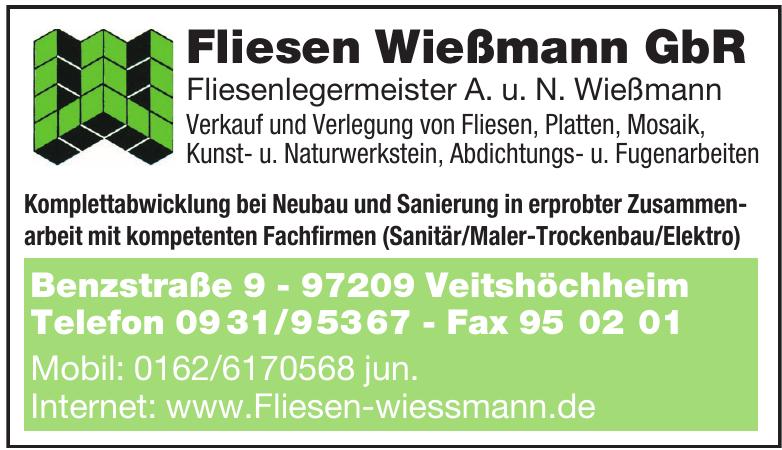Fliesen Wießmann GbR