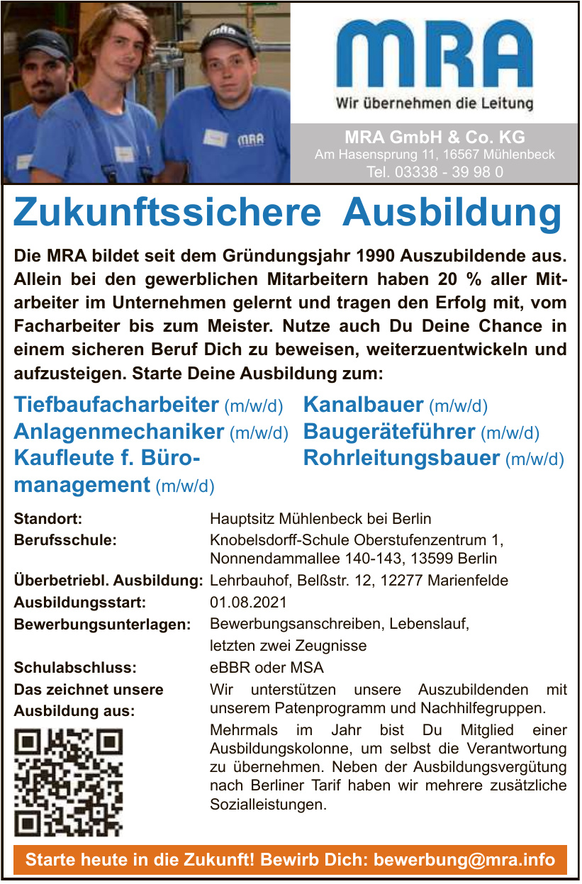 MRA GmbH & Co. KG