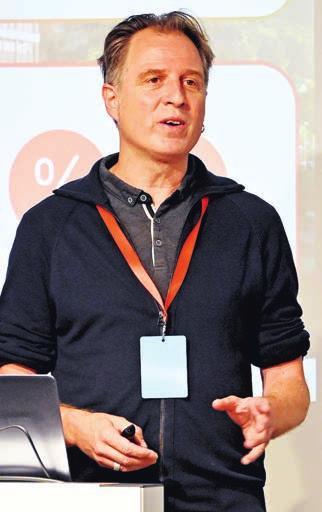 Gastgeber: Peter Morf, Experte des Hightech Zentrums Aargau
