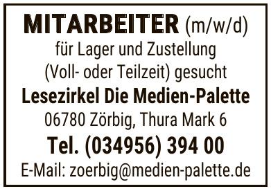 Lesezirkel Die Medien-Palette GmbH & Co. KG