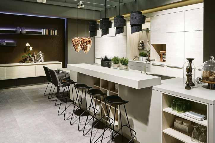 Individuell geplante Küchen müssen auf die Bedürfnisse ihrer Benutzer zugeschnitten sein. Foto: AMK