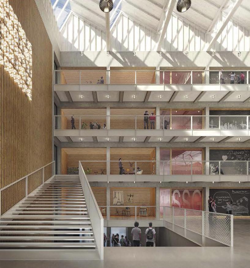 Die neue Halle teilt sich das DFG mit dem Struensee Gymnasium