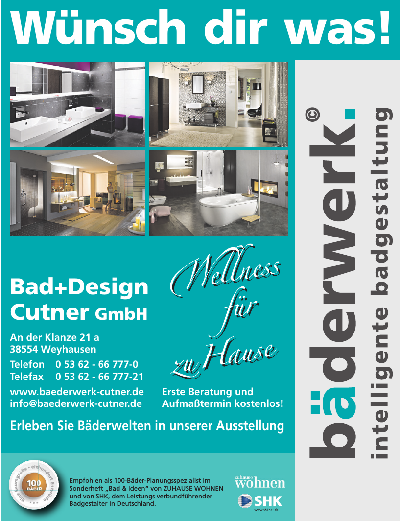 Bad+Design Cutner GmbH