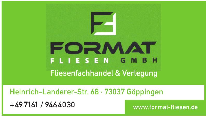 Format Fliesen GmbH