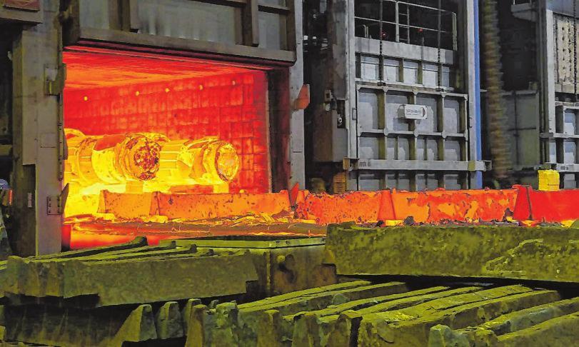 Das Unternehmen Walzen Irle aus Deuz blickt auf eine 200-jährige Unternehmensgeschichte zurück.