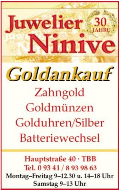 Juwelier Ninive