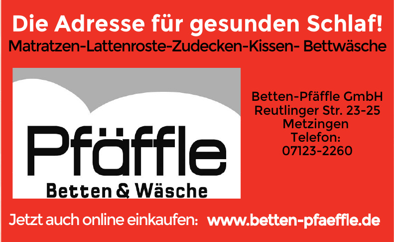 Betten-Pfäffle GmbH