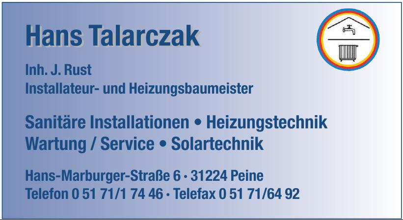 Hans Talarczak
