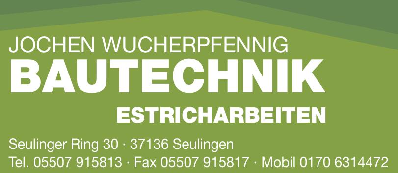 Jochen Wucherpfennig Bautechnik Estricharbeiten