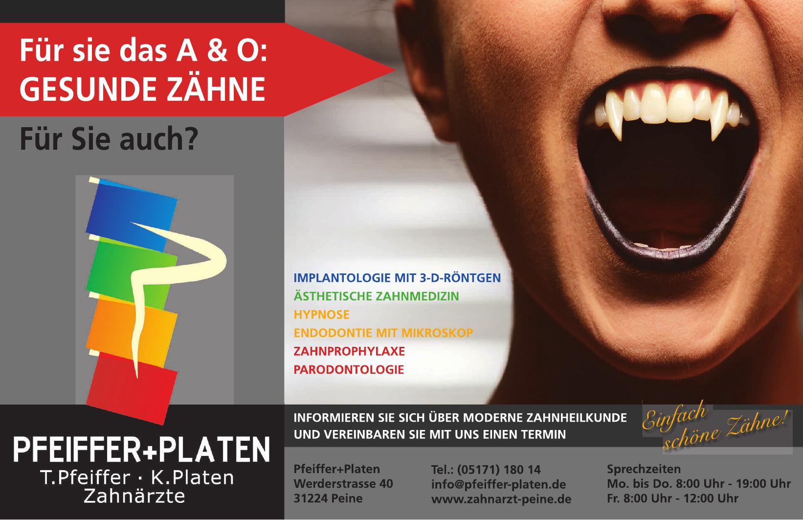 Pfeiffer + Platen Zahnärzte