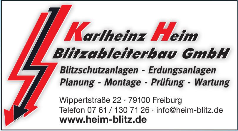Karlheinz Heim Blitzableiterbau GmbH