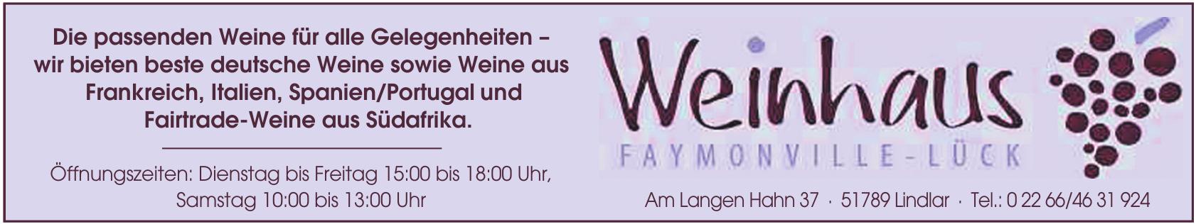 Weinhaus Faymonville-Lück