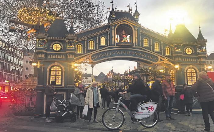 Die Bikes sollen ab April 2020 in ganz Köln ausleihbar sein