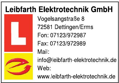 Leibfarth Elektrotechnik GmbH