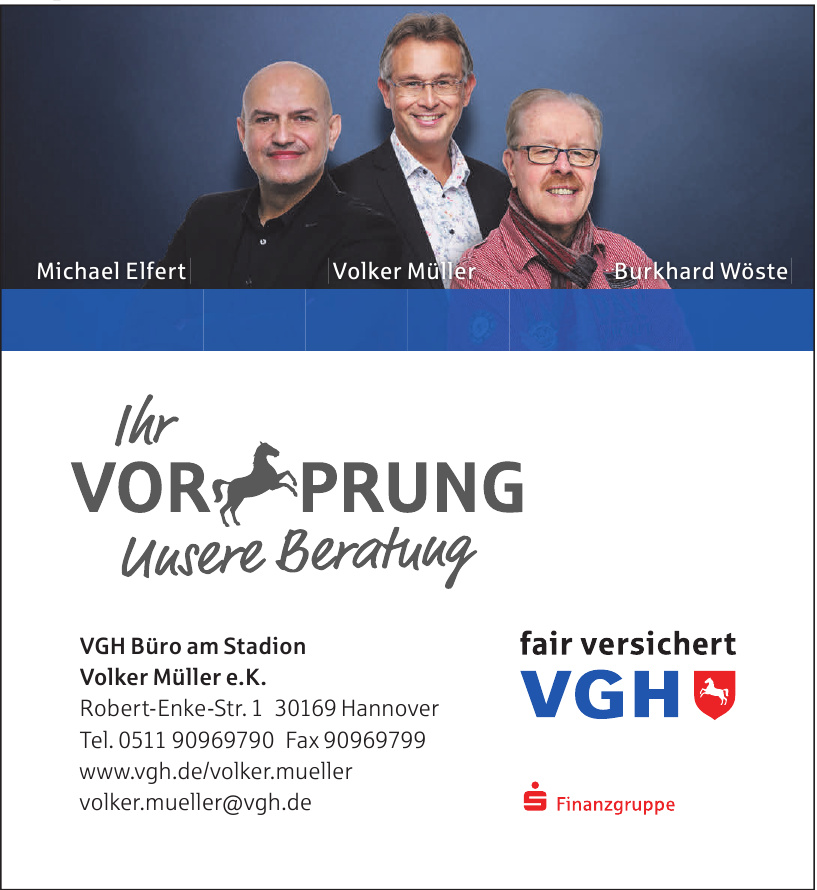 VGH Büro am Stadion Volker Müller e. K.