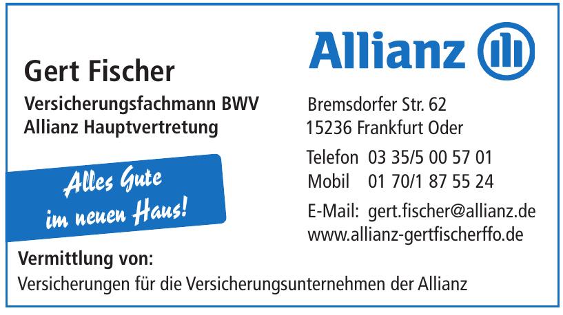 Allianz Gert Fischer