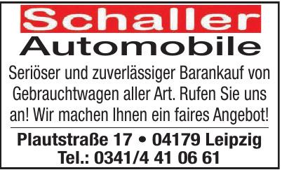 Schaller Automobile