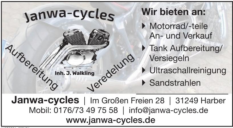 Janwa-cycles