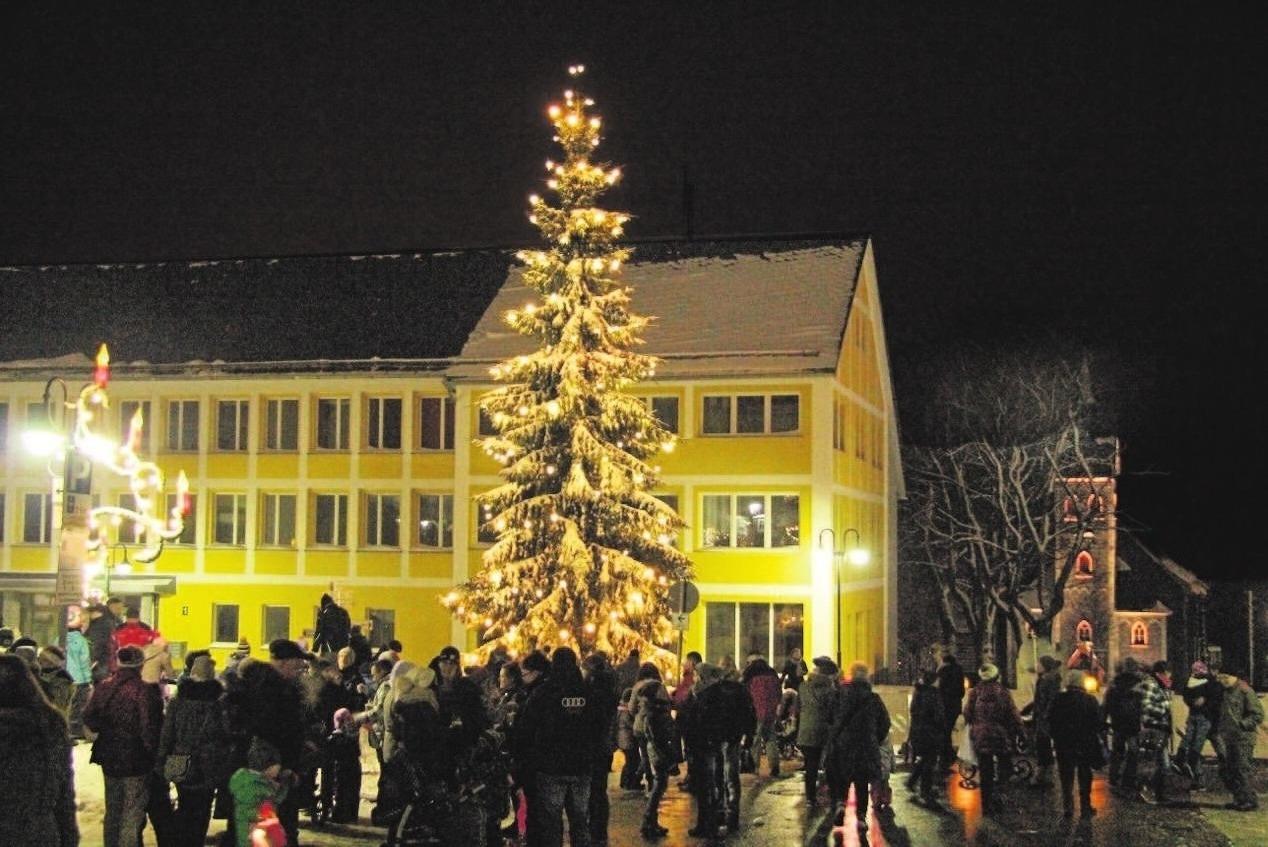 Sind die Lichter angezündet, beginnt die Bergweihnacht. Foto: Lemme