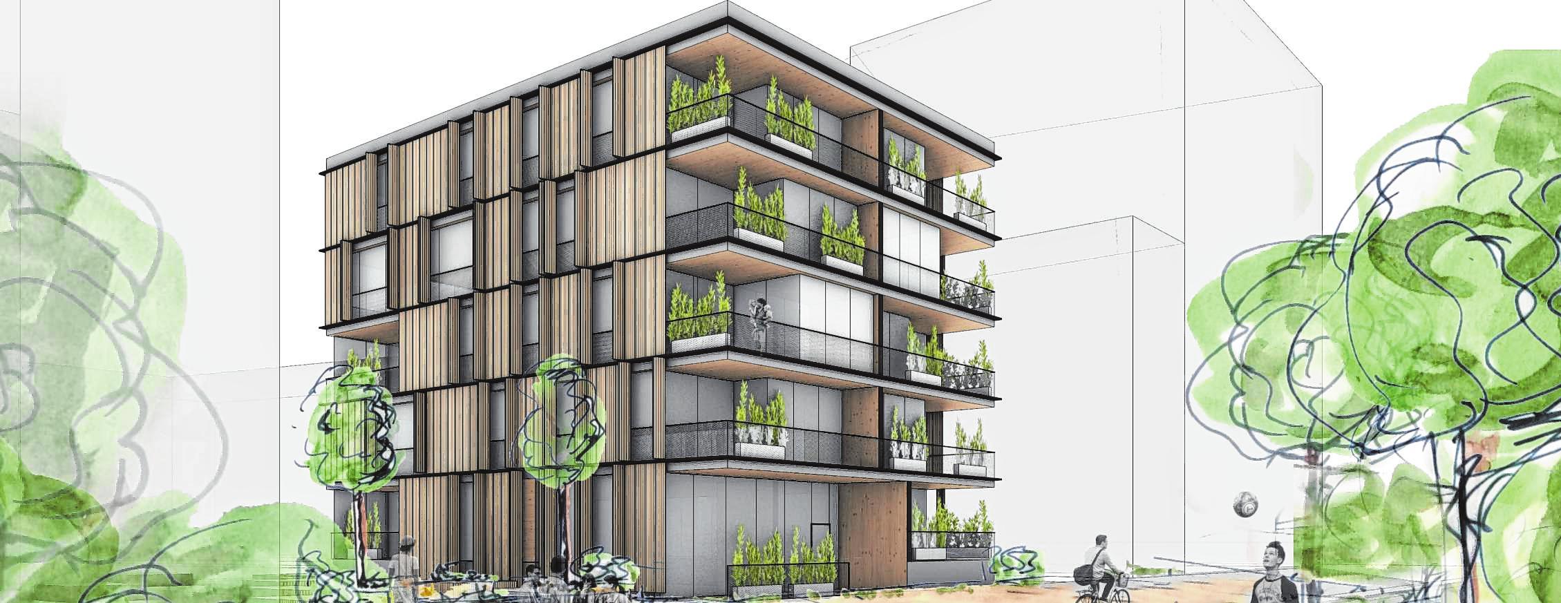 Mannheimer Baugemeinschaft Neighborwood: Wohnhaus am BUGA-Park